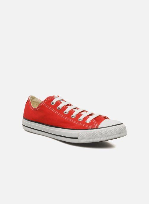 4722ff2c929 Sneakers Converse Chuck Taylor All Star Ox M Röd detaljerad bild på paret
