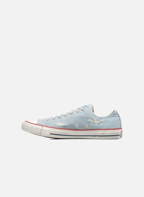 Baskets Converse Chuck Taylor All Star Ox M Bleu vue face