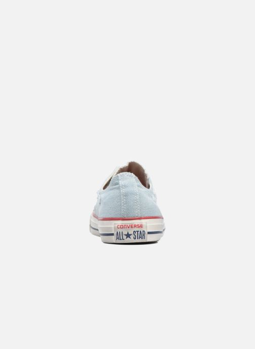 Baskets Converse Chuck Taylor All Star Ox M Bleu vue droite