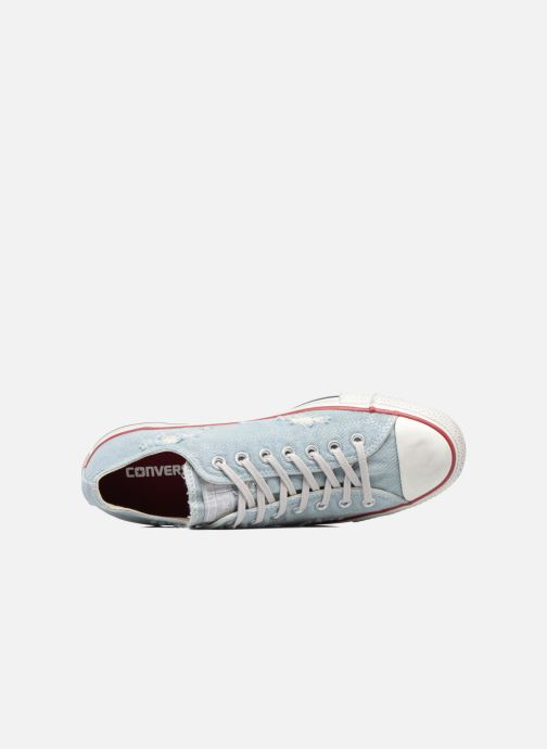 Baskets Converse Chuck Taylor All Star Ox M Bleu vue gauche