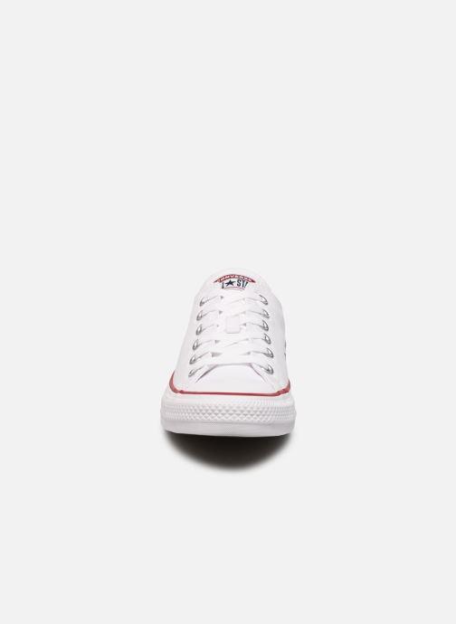 Sneaker Converse Chuck Taylor All Star Ox M weiß schuhe getragen