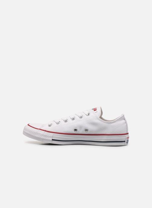 Sneaker Converse Chuck Taylor All Star Ox M weiß ansicht von vorne