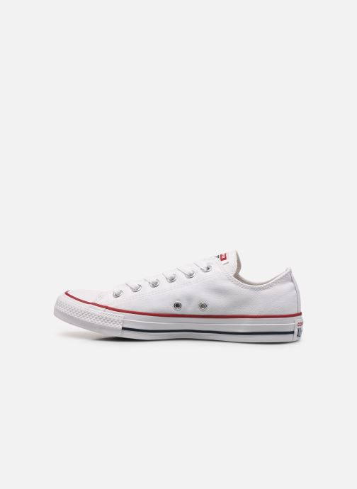 Baskets Converse Chuck Taylor All Star Ox M Blanc vue face