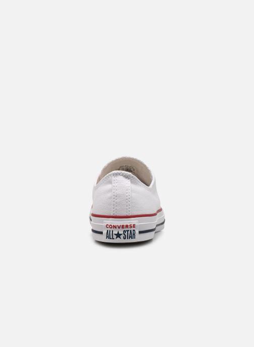 Sneakers Converse Chuck Taylor All Star Ox M Bianco immagine destra