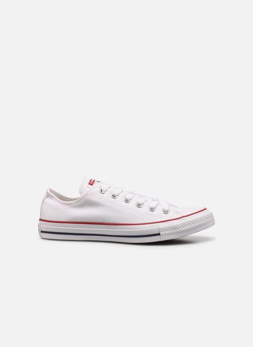 Sneaker Converse Chuck Taylor All Star Ox M weiß ansicht von hinten