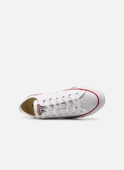 Baskets Converse Chuck Taylor All Star Ox M Blanc vue gauche
