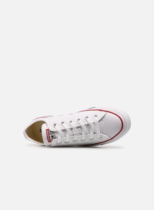 Sneaker Converse Chuck Taylor All Star Ox M weiß ansicht von links