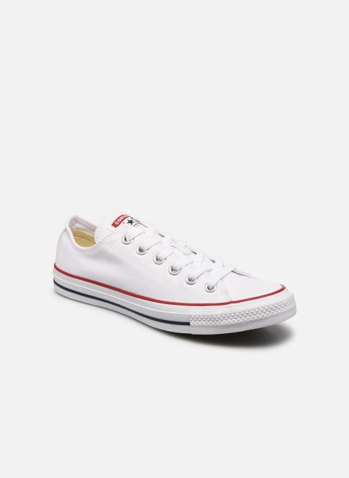 Baskets Converse Chuck Taylor All Star Ox M Blanc vue détail/paire