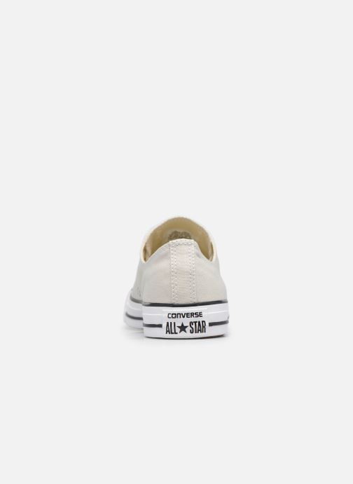 Baskets Converse Chuck Taylor All Star Ox M Gris vue droite