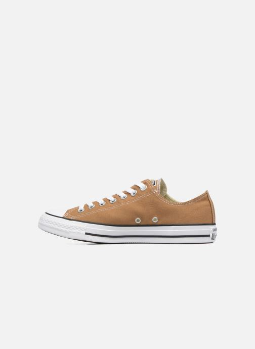 Sneaker Converse Chuck Taylor All Star Ox M braun ansicht von vorne