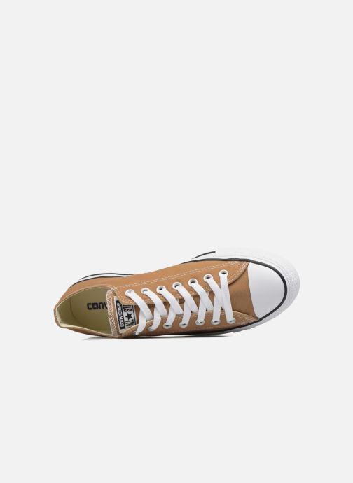 Sneaker Converse Chuck Taylor All Star Ox M braun ansicht von links
