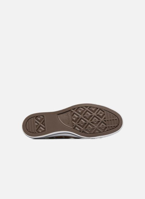 Sneaker Converse Chuck Taylor All Star Ox M braun ansicht von oben