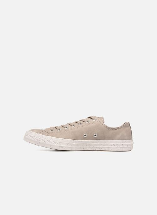 Baskets Converse Chuck Taylor All Star Ox M Gris vue face