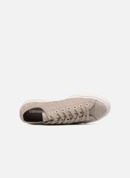 Baskets Converse Chuck Taylor All Star Ox M Gris vue gauche