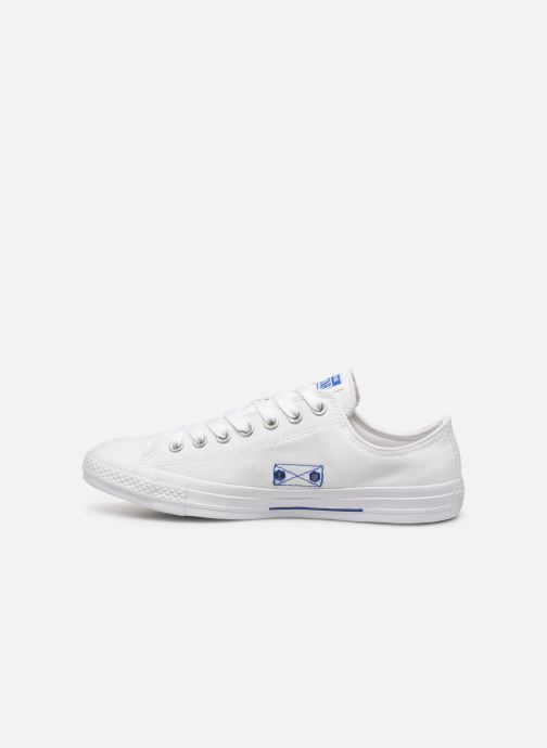 Sneakers Converse Chuck Taylor All Star Ox M Hvid se forfra