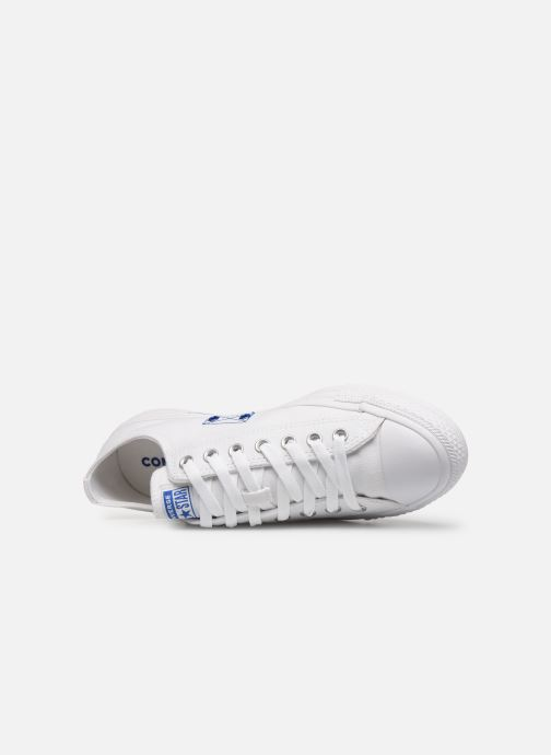 Sneakers Converse Chuck Taylor All Star Ox M Hvid se fra venstre