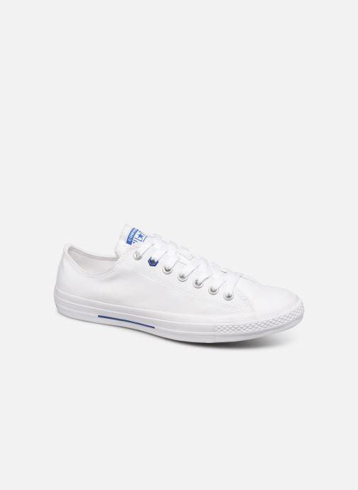 Sneaker Converse Chuck Taylor All Star Ox M weiß detaillierte ansicht/modell