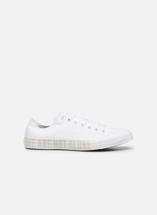 Sneakers Converse Chuck Taylor All Star Ox M Hvid se bagfra