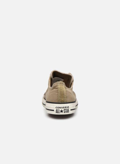 Sneakers Converse Chuck Taylor All Star Ox M Marrone immagine destra