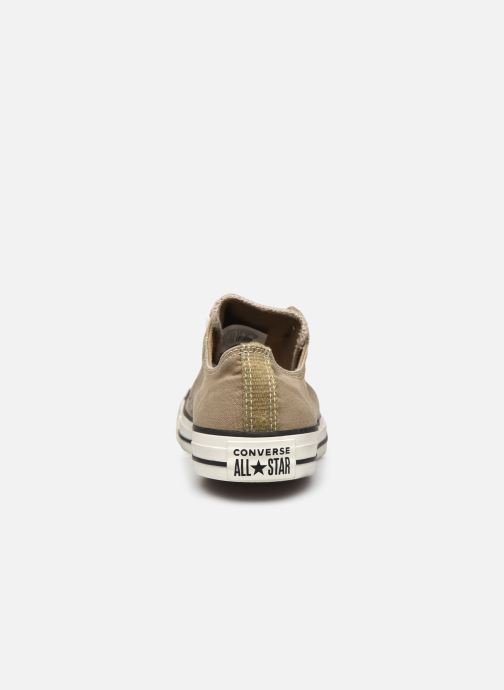 Trainers Converse Chuck Taylor All Star Ox M Brown view from the right