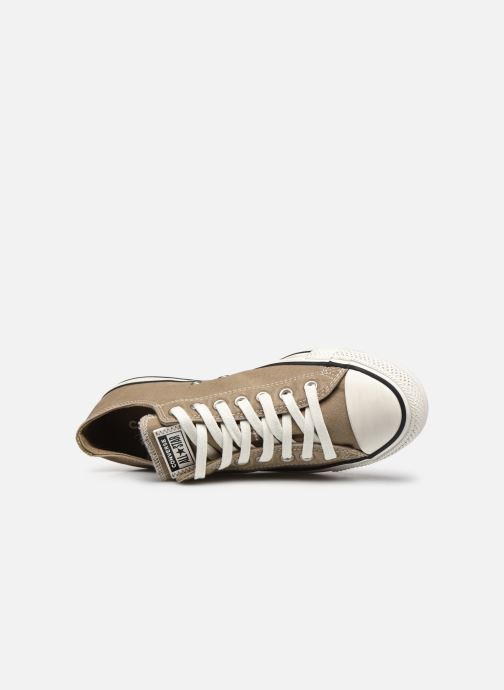 Sneakers Converse Chuck Taylor All Star Ox M Marrone immagine sinistra