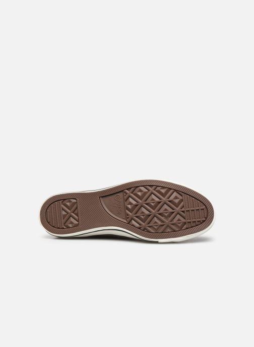 Sneakers Converse Chuck Taylor All Star Ox M Marrone immagine dall'alto