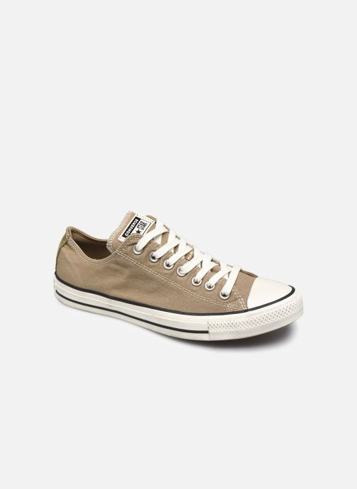Baskets Converse Chuck Taylor All Star Ox M Marron vue détail/paire