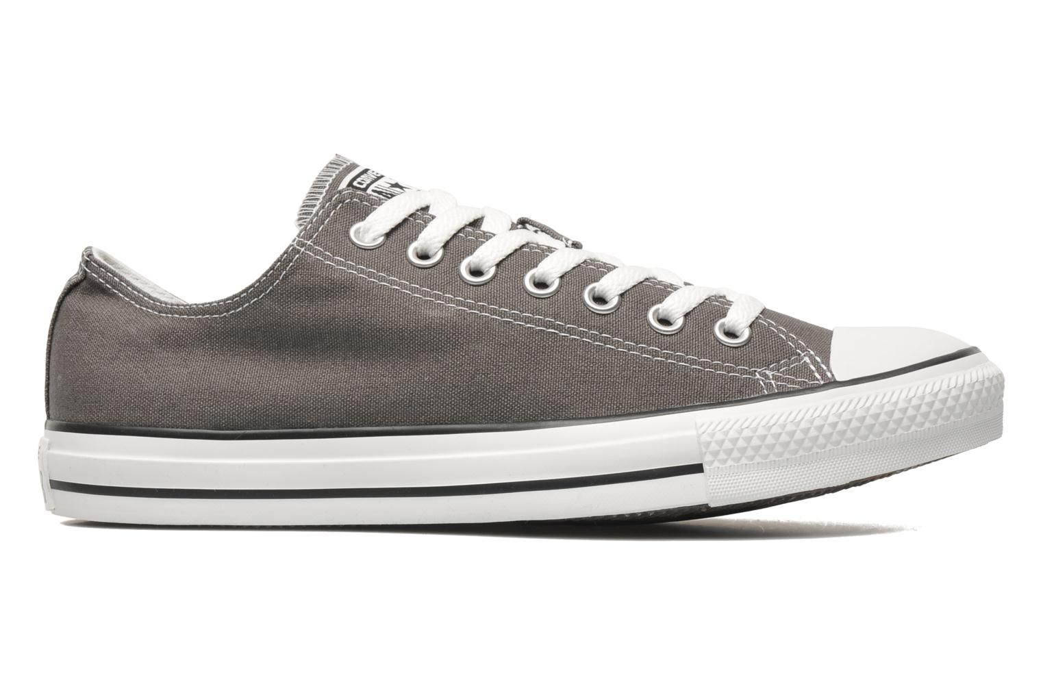 Trainers Converse Chuck Taylor All Star Ox M Grey back view