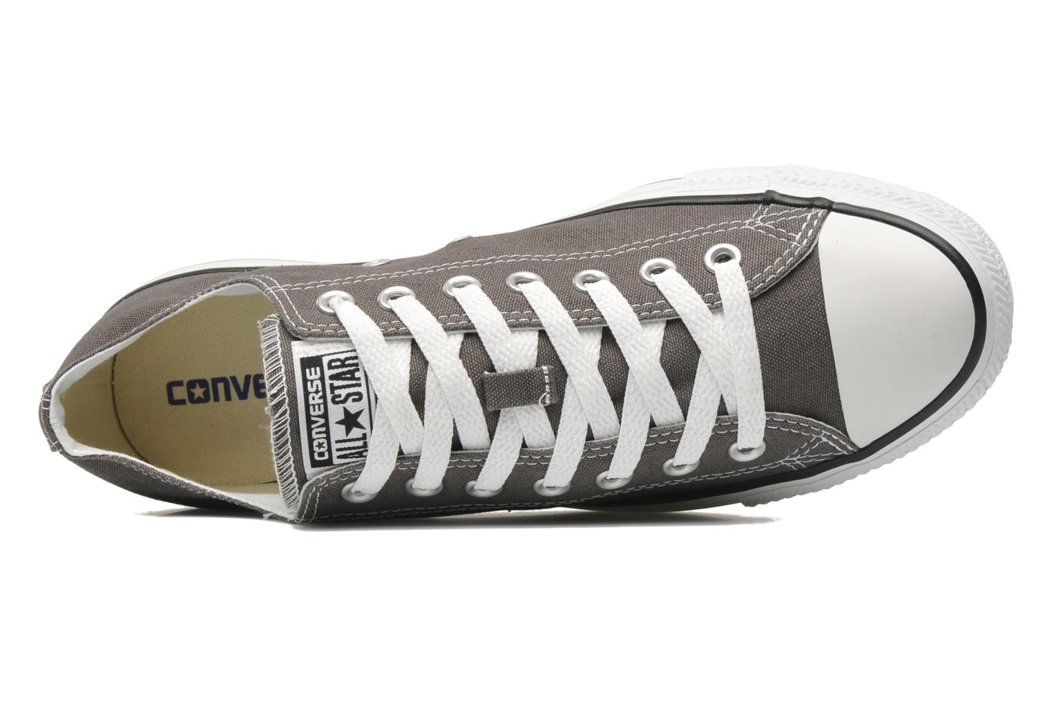 Sneakers Converse Chuck Taylor All Star Ox M Grigio immagine sinistra