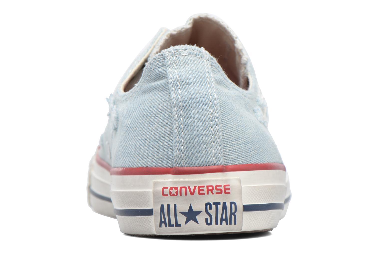 Baskets Converse Chuck Taylor All Star Ox M Bleu vue droite