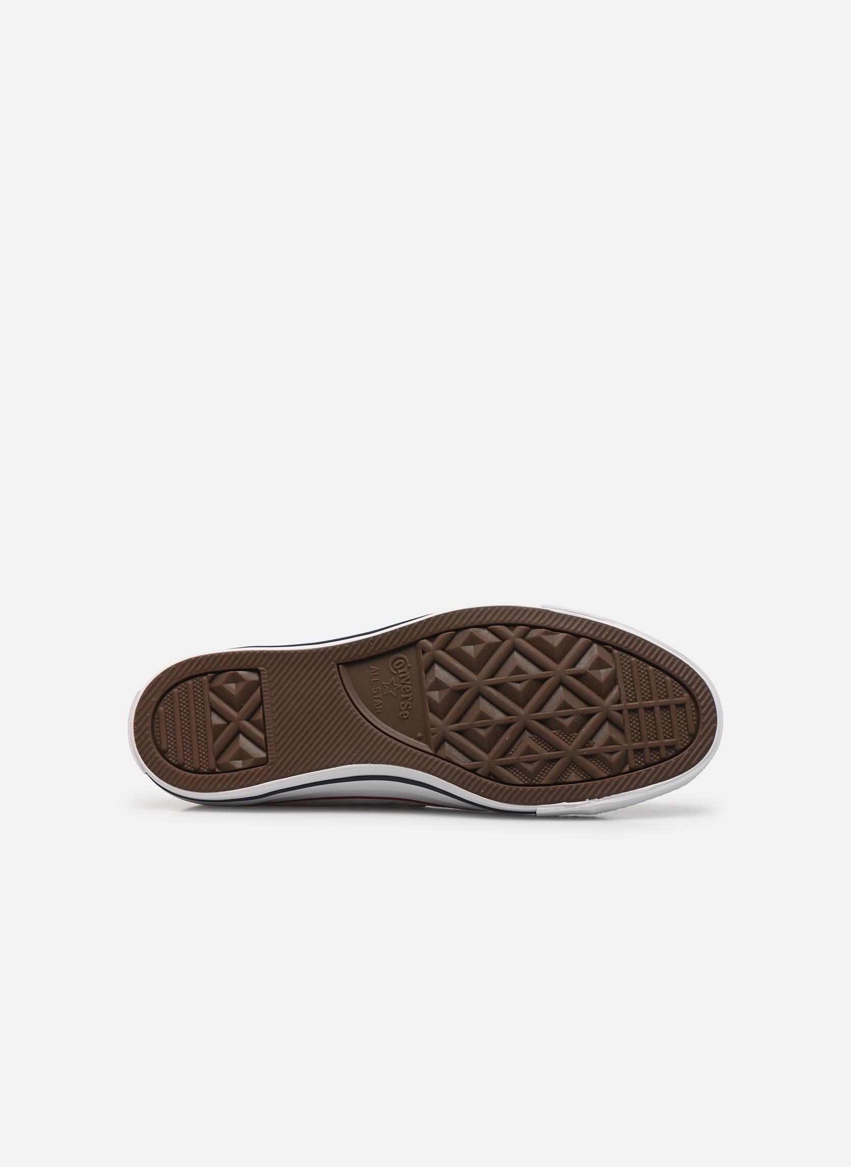 Sneakers Converse Chuck Taylor All Star Ox M Bianco immagine dall'alto