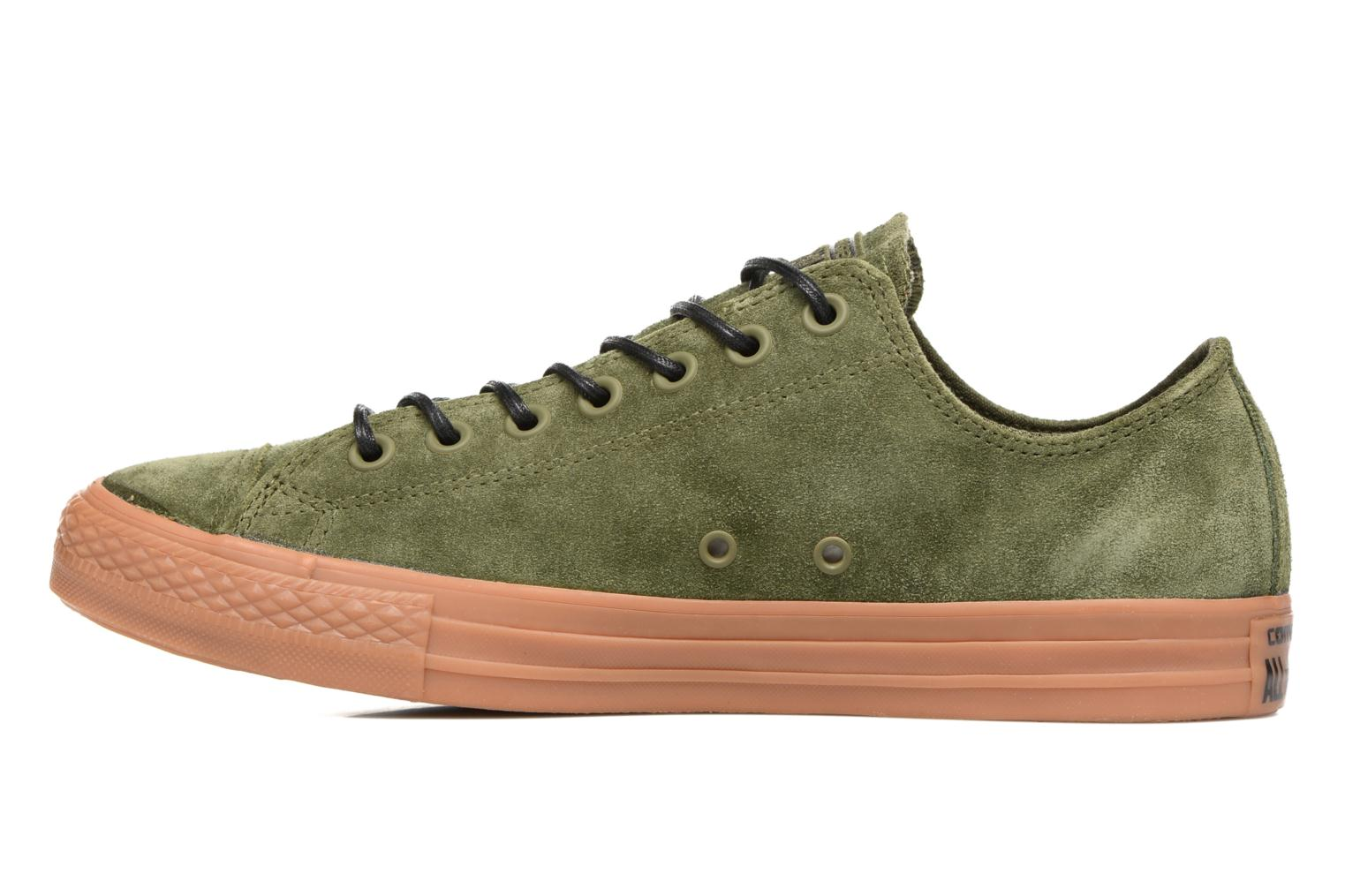 Sneakers Converse Chuck Taylor All Star Ox M Verde immagine frontale
