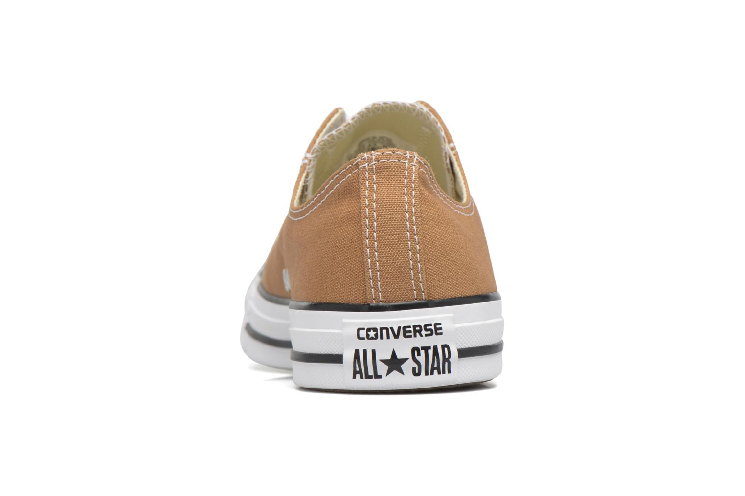 Baskets Converse Chuck Taylor All Star Ox M Marron vue droite