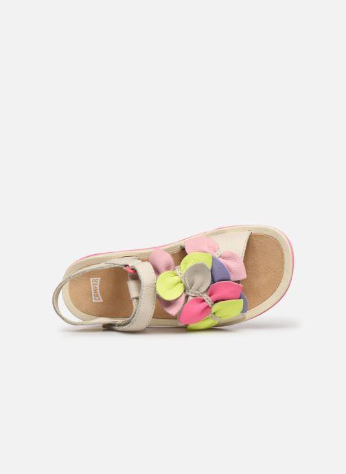 Sandales et nu-pieds Camper Twins Kids Multicolore vue gauche