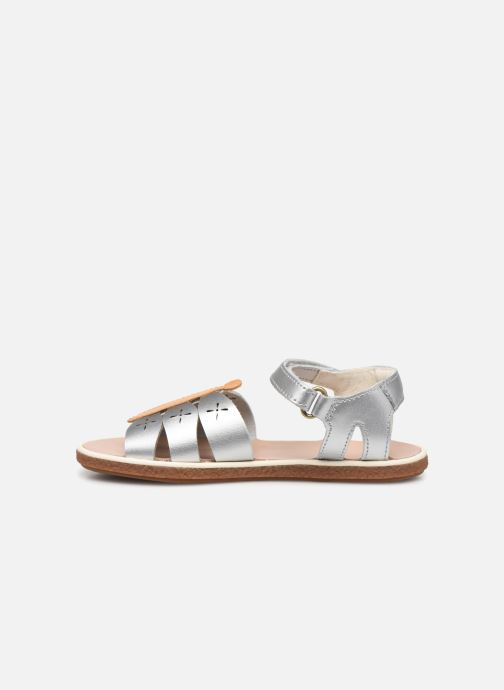 Sandals Camper Twins Kids Silver front view