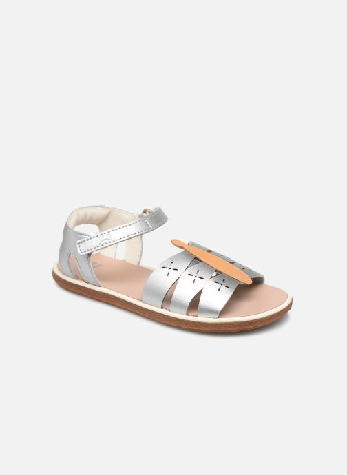 Sandals Camper Twins Kids Silver detailed view/ Pair view
