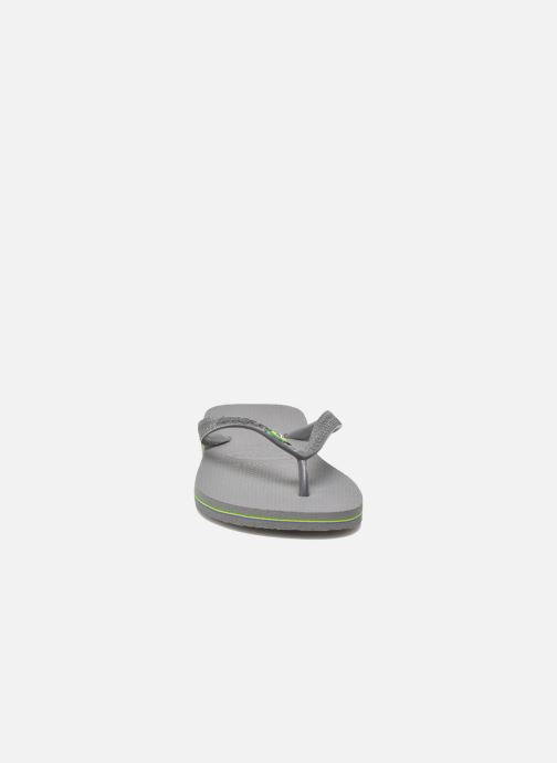 Flip flops Havaianas Brazil H Grey model view
