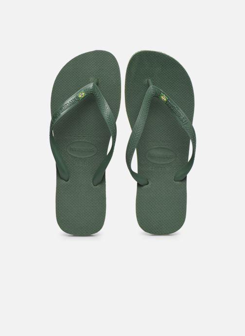 Infradito Havaianas Brazil H Verde modello indossato