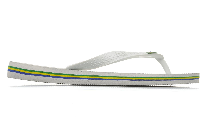 Flip flops Havaianas Brazil H White back view