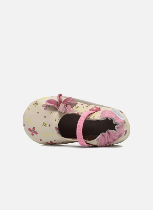 Slippers Robeez Flower Power Beige view from the left