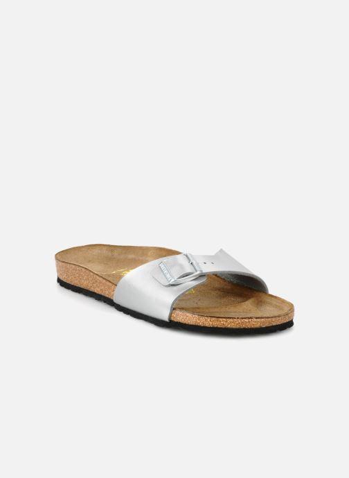 Clogs og træsko Birkenstock Madrid Flor W (Smal model) Sølv detaljeret billede af skoene