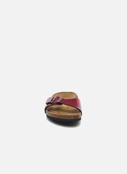 Mules et sabots Birkenstock Madrid Flor W Violet vue portées chaussures
