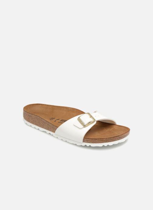 Clogs og træsko Birkenstock Madrid Flor W (Smal model) Hvid detaljeret billede af skoene