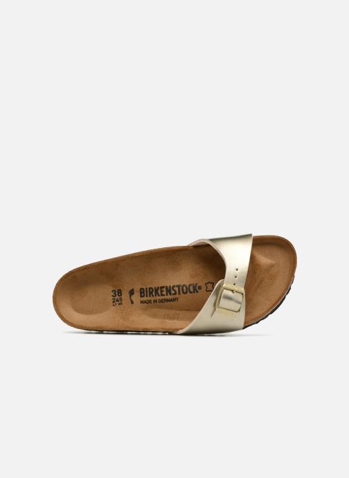 Mules & clogs Birkenstock Madrid Flor W Bronze and Gold view from the left