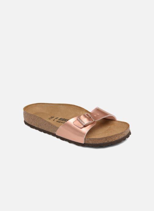 Clogs og træsko Birkenstock Madrid Flor W (Smal model) Pink detaljeret billede af skoene