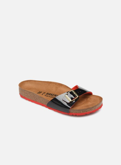 Wedges Birkenstock Madrid Flor W Zwart detail