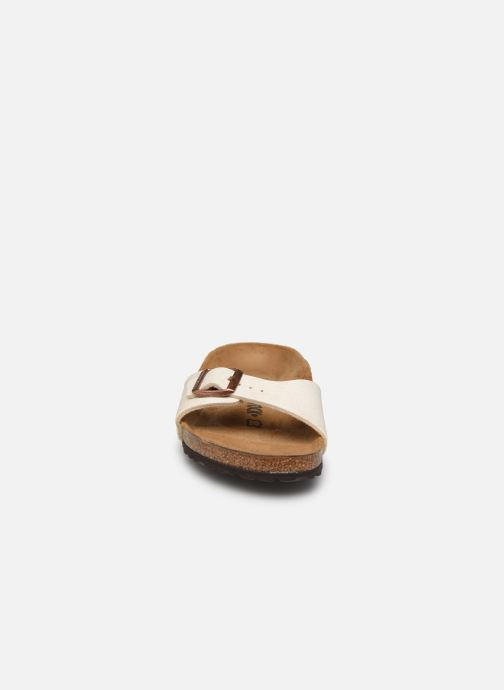 Mules et sabots Birkenstock Madrid Flor W Beige vue portées chaussures