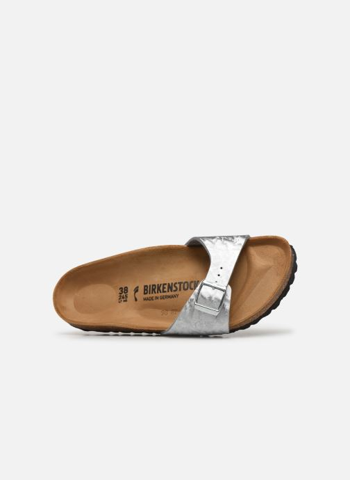 Mules & clogs Birkenstock Madrid Flor W Silver view from the left