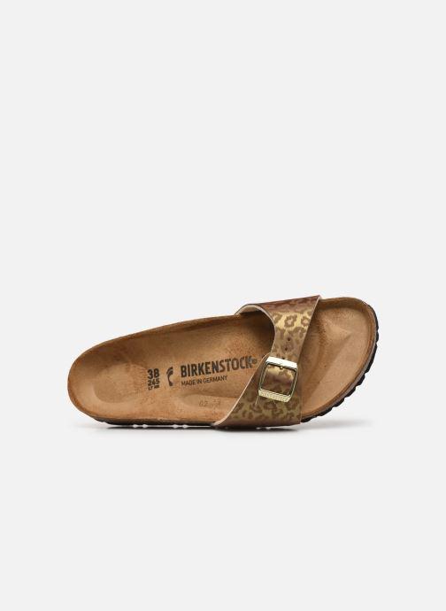 Clogs & Pantoletten Birkenstock Madrid Flor W gold/bronze ansicht von links