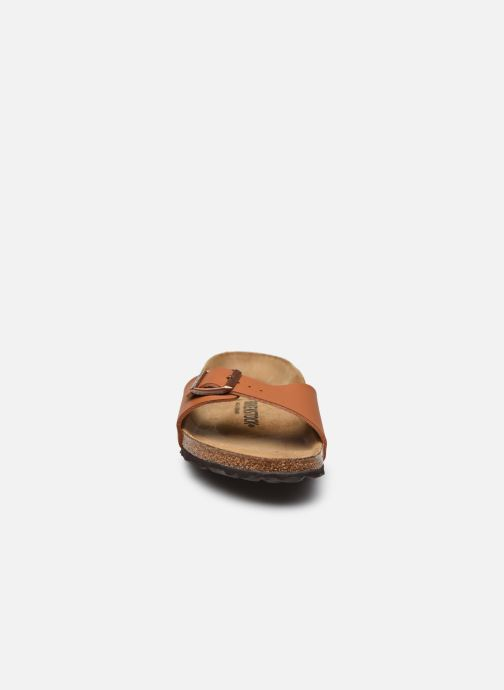 Clogs & Pantoletten Birkenstock Madrid Flor W braun schuhe getragen